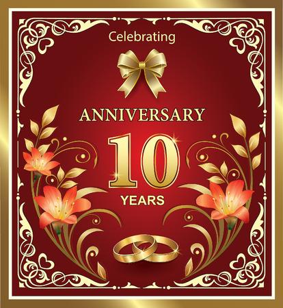 10e huwelijksverjaardag