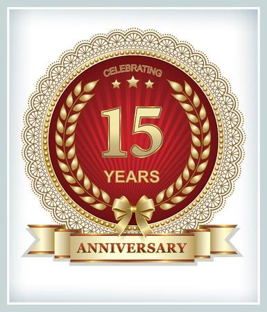 15: Birthday 15 years