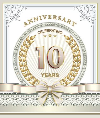 10 years: Happy birthday 10 years