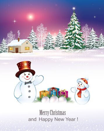 merry christmas and happy new year Çizim