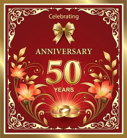 50th: 50th anniversary Illustration