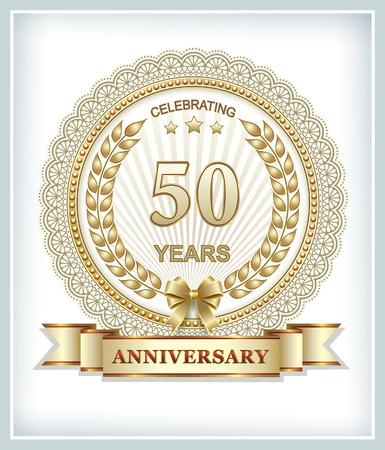 50 years: Golden Jubilee 50 years