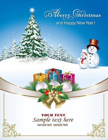 nouvel an: Joyeux No�l et bonne ann�e