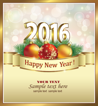 season greetings: Happy New Year 2016