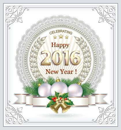 bonne ann�e: Happy New Year 2016