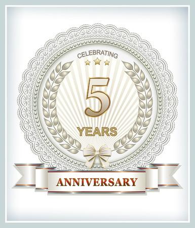 5th: 5th anniversary