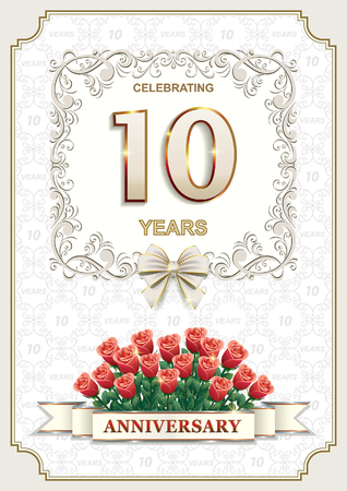 10 years: Happy birthday 10 years