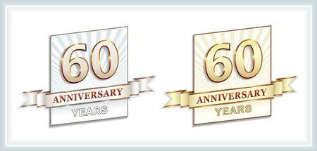 60 years: 60 years anniversary
