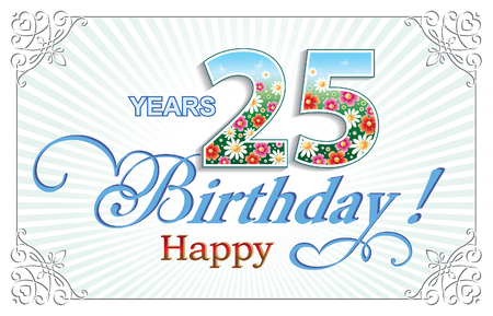25: Happy birthday 25 years