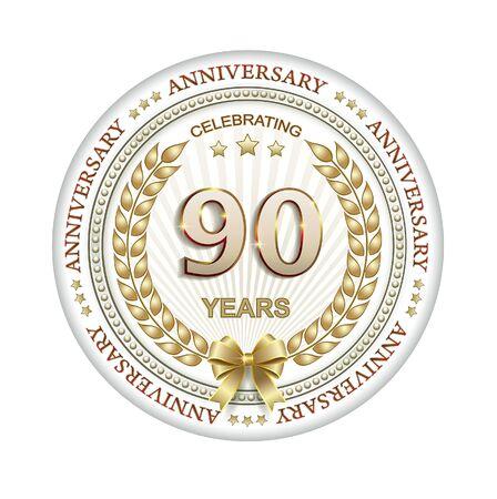 90th: 90th anniversary
