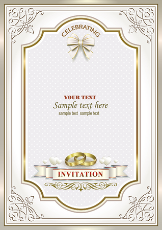 mariage carton d'invitation
