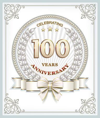 th: 100 th anniversary Illustration