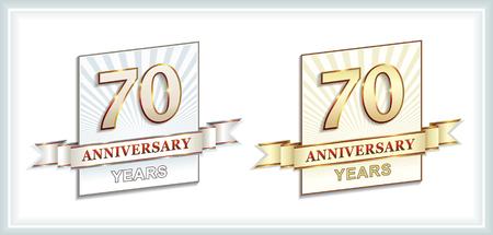 70 years: Anniversary 70 years