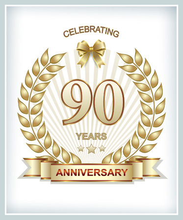 90 years: Anniversary 90 years of the golden laurel wreath