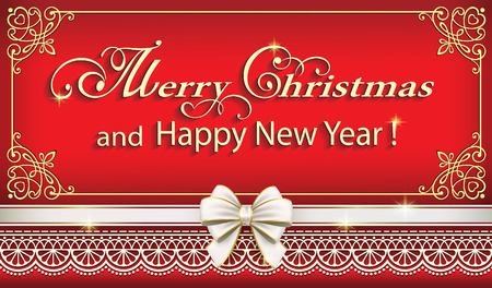 Merry Christmas and Happy New Year 2017 Çizim