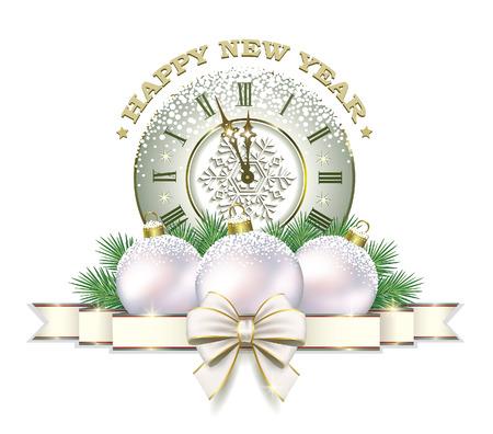 Szczęśliwego Nowego Roku 2017 Ilustracje wektorowe