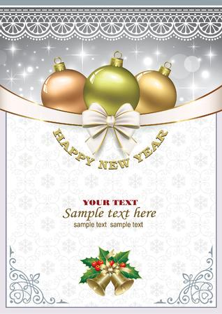 christmas background Vektoros illusztráció