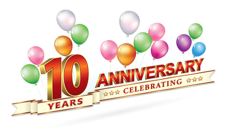 Happy birthday 10 years