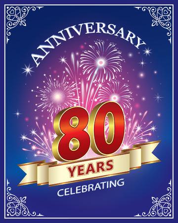Anniversary 80 years