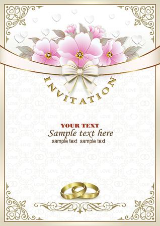 postcard: Wedding invitation