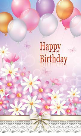 postcard: Happy Birthday