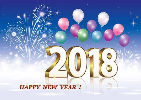 Happy new year 2018.