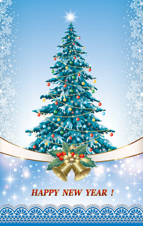 aria: Christmas tree and with bells