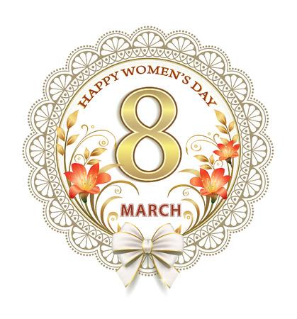 8 March International Womens Day Illustration