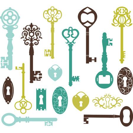 llaves: Claves de la vendimia Silueta