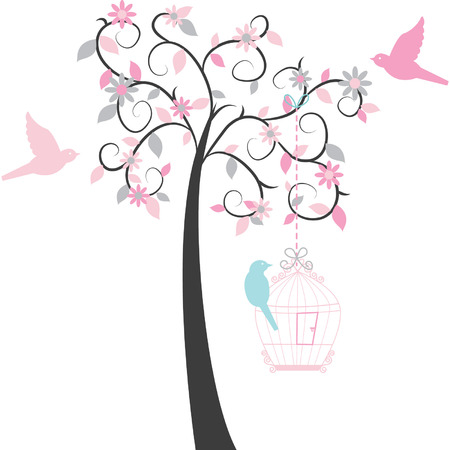 birdcage: Birdcage Tree