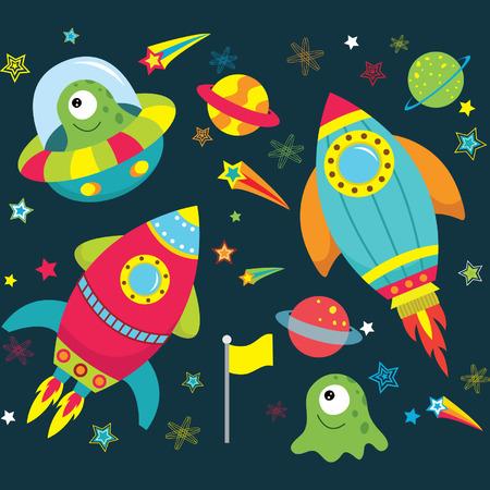 booster: Espacio Ultraterrestre Colecciones