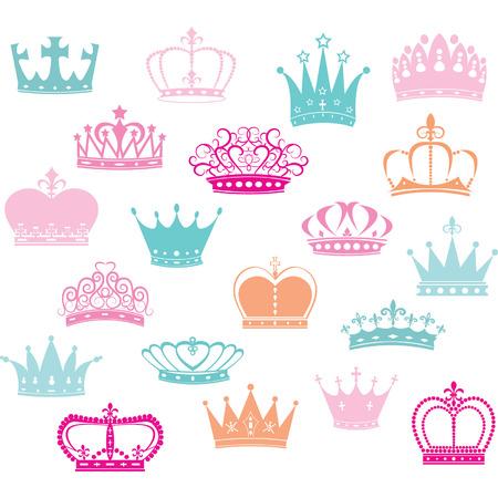 couronne royale: SilhouettePrincess Couronne Couronne