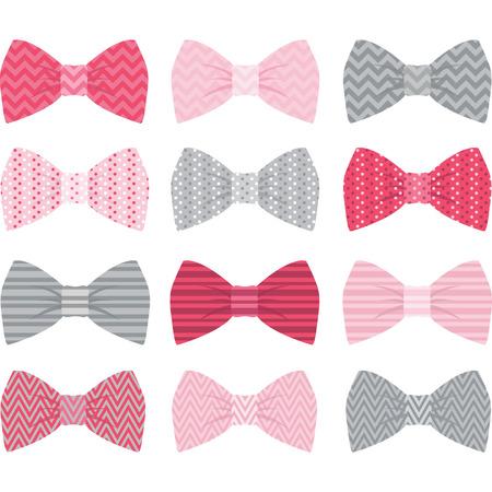 lazo regalo: Cute Pink Pajarita Colección