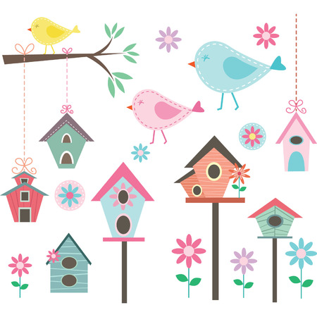 Little BirdBird HousesBirds and FlowersBranches Collections
