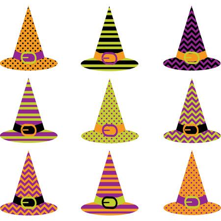 woodland  horror: Halloween Hat set