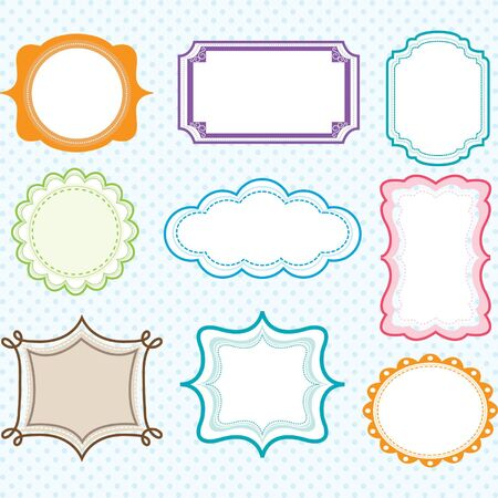 digital: Colorful Digital Frames Collections