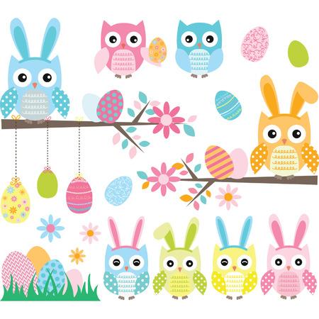 Easter Owl set