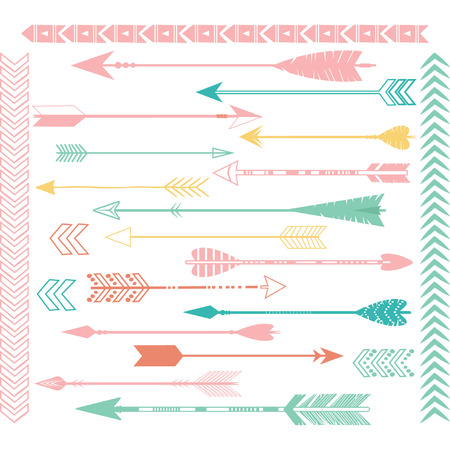 teepee: Arrow Clip Art Set