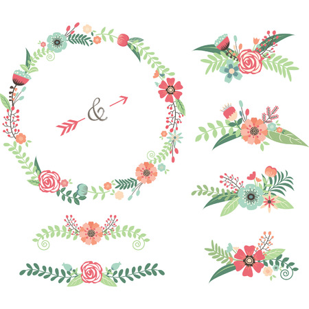 Wedding Flower Elements