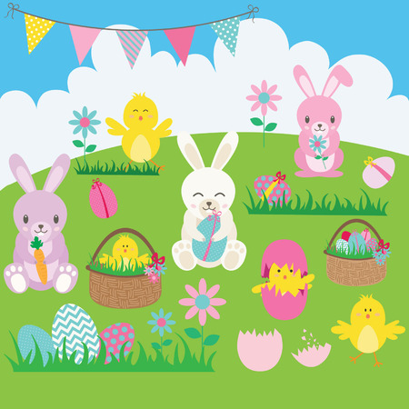 1,346 Easter Chicks Stock Vector Illustration And Royalty Free ...