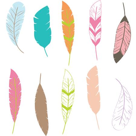 clip art: Feather Clip art,Feather Pattern Illustration