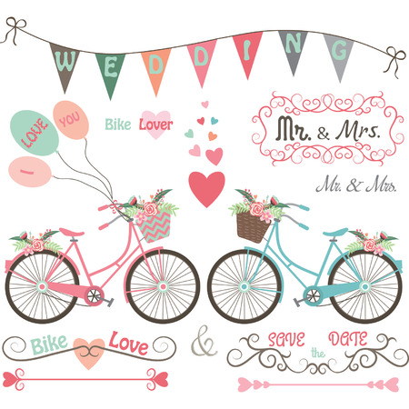 scarp: Wedding Bike Elements