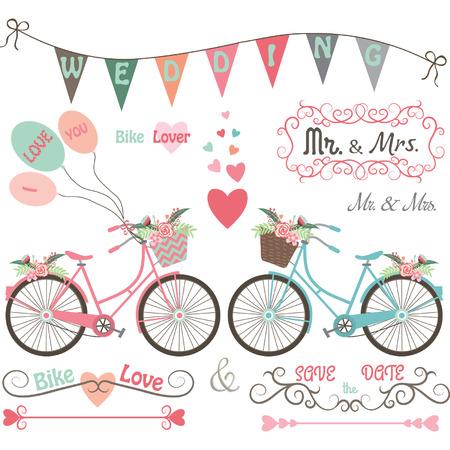 mr: Wedding Bike Elements