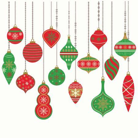Christmas Ornaments design.