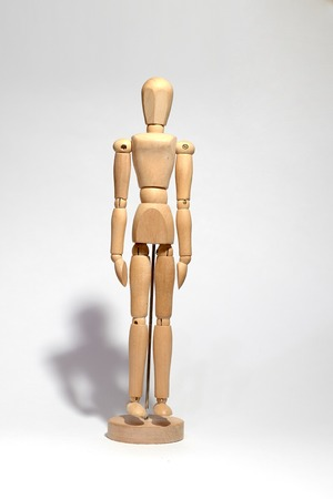 wooden figure concepts stability