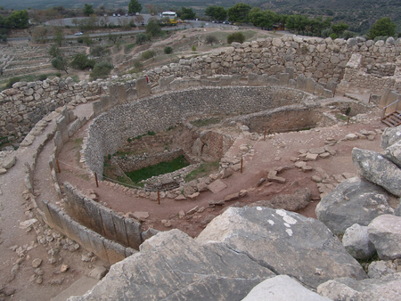 The fortifications of Mycenae, as those of most other Mycenaean palaces, were extensive. photo