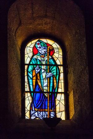 ortigia: Internal glass mosaic in the Ortigia main cathredal