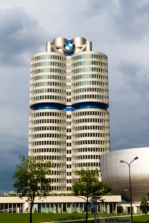 The world of BMW, museum and shop in Munich Germany