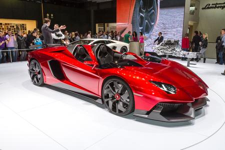 Sport car at Auto Salon of Geneva