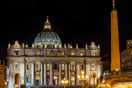 enclave: The Papal Basilica of St. Peter in the Vatican, or simply St. Peters Basilica (Latin: Basilica Sancti Petri; Italian: Basilica Papale di San Pietro in Vaticano), is an Italian Renaissance church in Vatican City, the papal enclave within the city of Rome.